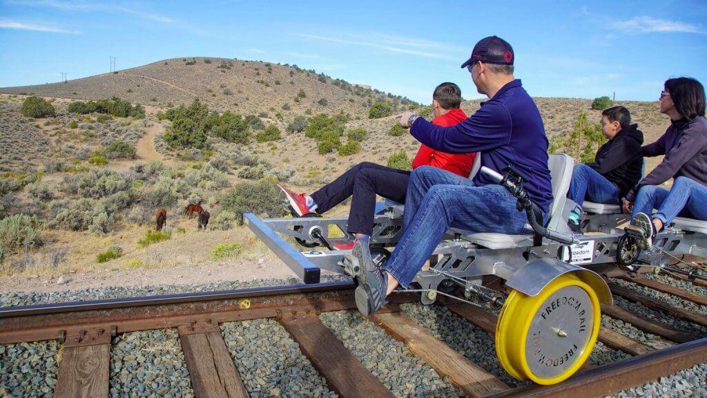 V&T Carson Canyon Railbike Tours