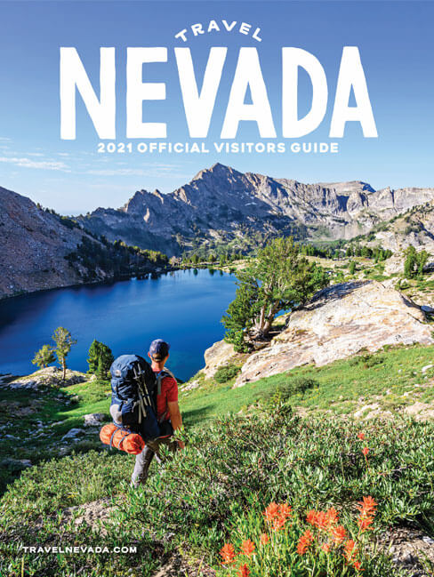 Travel Nevada Visitor's Guide 2021 Cover