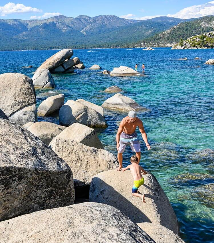 Lake Tahoe State Park, Incline Village, Nevada