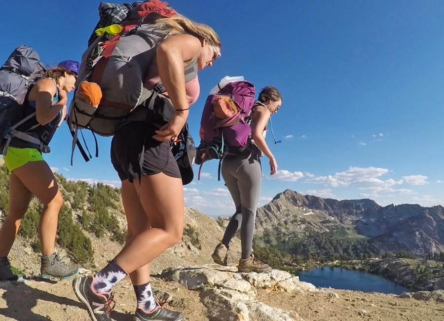 Hiking and Backpacking at Liberty Lake, Nevada
